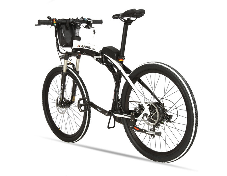 Lankeleisi 189.47 electric bicycle, folding bicycle, 26 inches, 36/48 V, 240 W, disk brake, fast folding, mountain 22