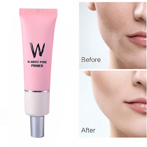 Korea Cosmetics Facial Primer Base Makeup for Face Brighten Skin Pore Concealer Primer Cream Rose Essence Before Foundation(China)
