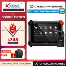 X100 PAD2 프로 OBD2 전문 자동차 진단 도구 주요 프로그래머 폭스 바겐 4th 이모빌라이저 및 자동 스캐너 주행 거리계 조정 무료 업데이트 온라인