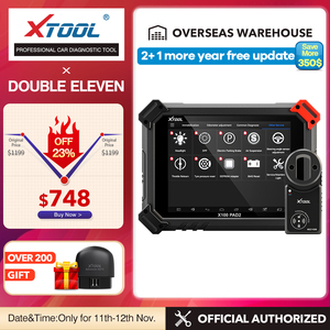 Image 1 - XTOOL X100 PAD2 Pro Car OBD2 Key Programmer OBD2 Immobilizer With Automotivo Diagnostic Auto Scanner With KC100 Update Online