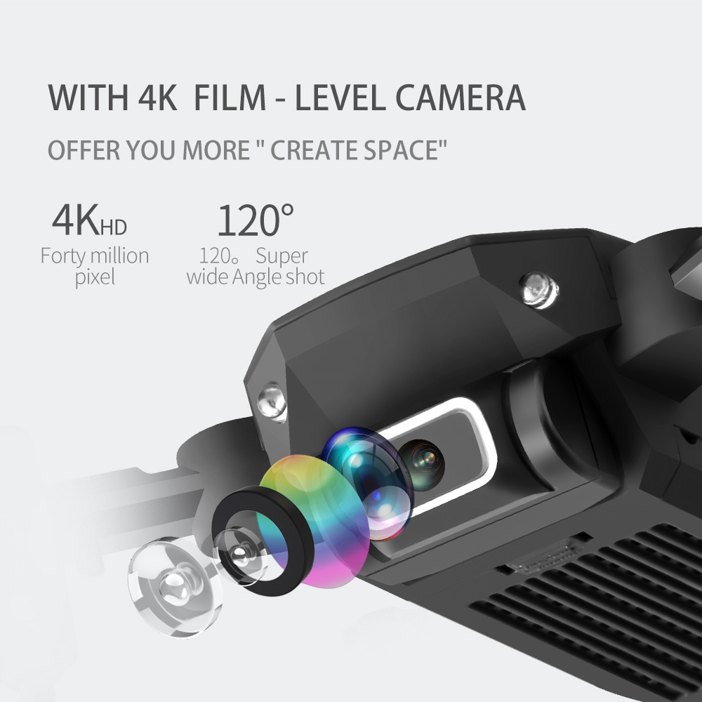 2020 NEW RC drone 4k HD wide angle camera wifi fpv drone height keeping drone with camera mini drone video live rc quadcopter 2