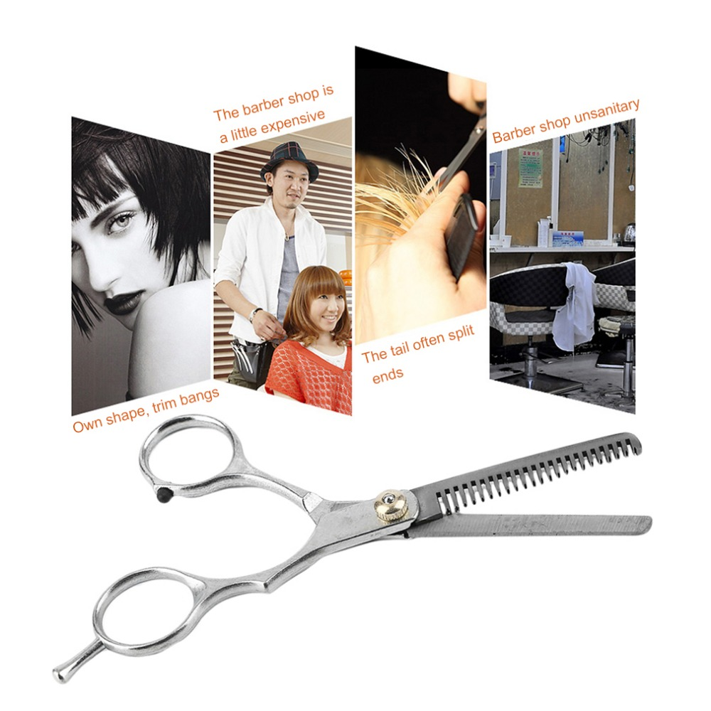 Salon Scissors Shears Clipper Hair Cut Barber Hairdressing Regular Cutting Scissor Thinning Scissor With Thumb Rest HOT