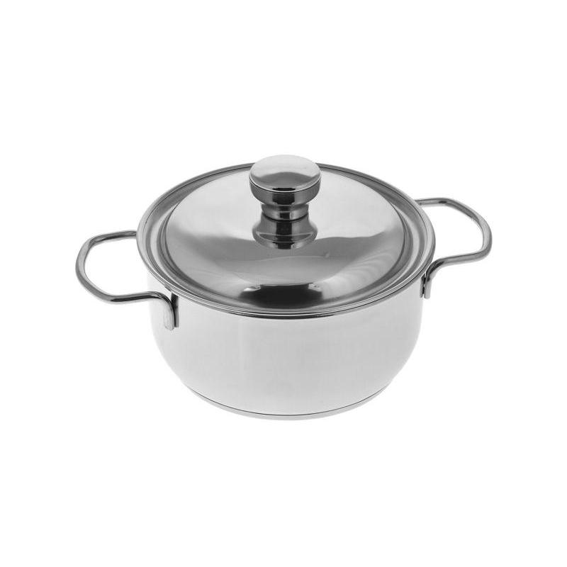 Pan АМЕТ, Classic-Prima, 1,5 L, with metal cover pan амет classic prima 1 l with metal cover