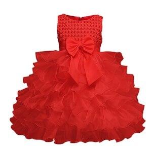 Платье с цветочным узором для девочек; Летняя одежда для маленьких принцесс; Вечерние платья для новорожденных; Платье для первого дня рожд...