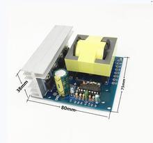 DC AC Bộ Chuyển Đổi Nguồn Điện 12V/24V Sang 220V 380V 18V AC 500W Inverter Ban Tiền module Tăng Áp
