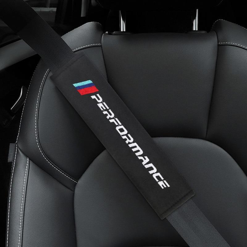 2pcs Cotton flannel carbon fiber protection Cover case for BMW X1 X3 X5 X6 E46  e39 E90 E36 E60 E34