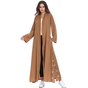 Open Abaya Kimono Dubai Kaftan Islam Muslim Hijab Dress Jilbab Abayas For Women Robe Caftan Turkish Islamic Clothing Moslim Jurk