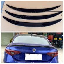 UBUYUWANT-alerón trasero de fibra de carbono/FRP, alerón para maletero, alerón de ala para Alfa Romeo, Giulia, sedán, Quadrifoglio, Verde, 2015 - UP