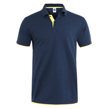 Heren Polo Shirts Mannen Casual Desiger Polo Katoen Korte Mouw Polo Shirt Zachte Effen Truien Golf Tennis Polo Plus Size XS-3XL(China)