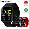 Смарт-часы Hembeer  умные часы  Relogio Inteligente  с частотой сердечных сокращений/артериальным давлением  для телефона xiaomi ios android