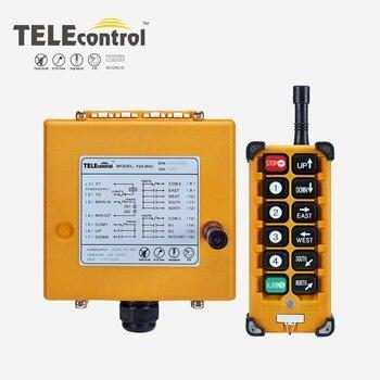 Industrial Remote Control F23-A++ Hoist Crane Lift Button Switch 8 buttons 1 receiver 1 transmitter for truck hoist crane
