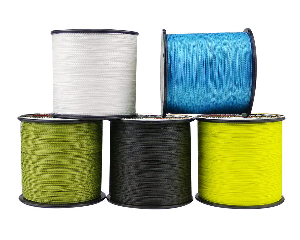 Super 300M/347yards fishing line braided 9 strands pe line for sea fishing strong online fishing tackle round pe fishing cords|pe line|fishing line|fishing line braid - title=