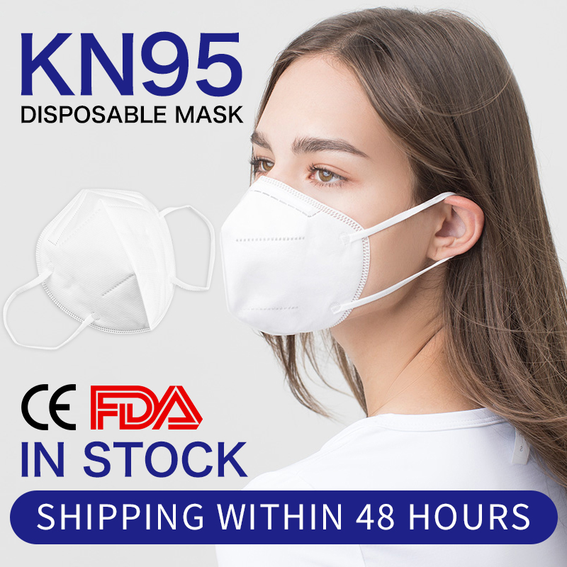 10PC KN95 FFP2 Mask Protective Anti-Dust Masks Mouth Face Mask Protection N95 Level Mask Anti Fog AntiFlu In Stock Fast Shipping