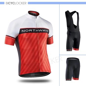 Summer Cycling Clothing Northwave Jersey Set Short Sleeve Team Men Bike Uniform Breathable Mallot Ciclismo Hombre Verano 2020