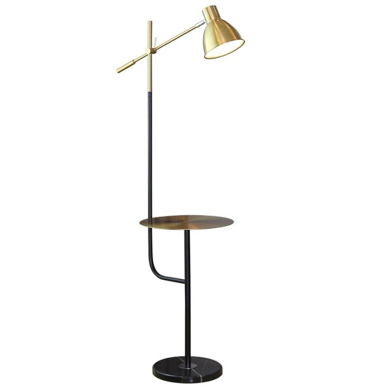 Indoor Led Floor Lamps With Pallet Modern Attractive Living Room