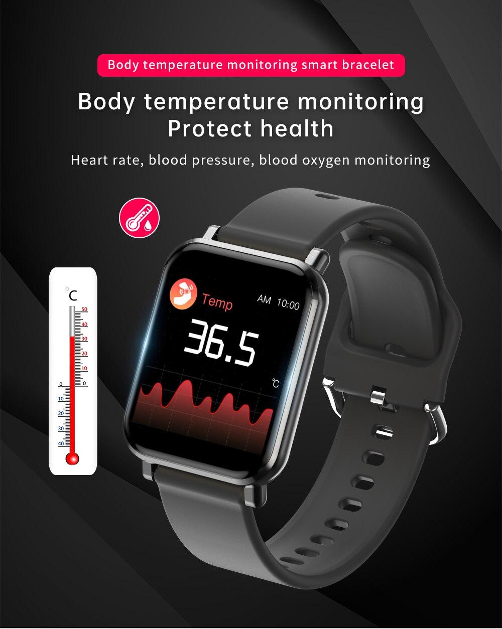 corpo rastreador de freqüência cardíaca pulseira esporte relógios femininos 2020