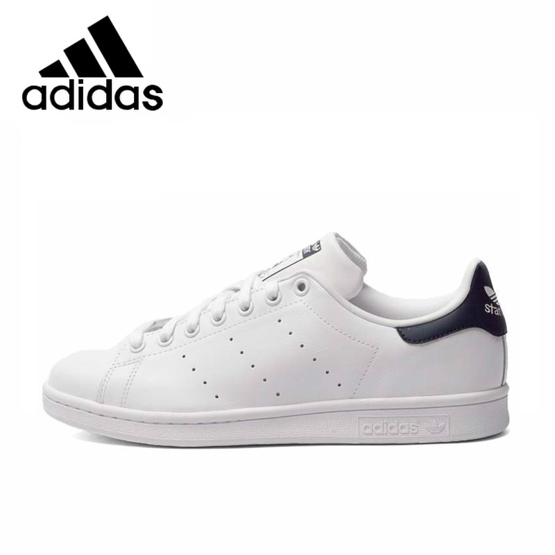 <font><b>Original</b></font> <font><b>Adidas</b></font> StanSmith Unisex Skateboarding <font><b>Shoes</b></font> Clover Series Men and <font><b>Women</b></font> Fashion Sneakers Lightweight Leisure M20324 image