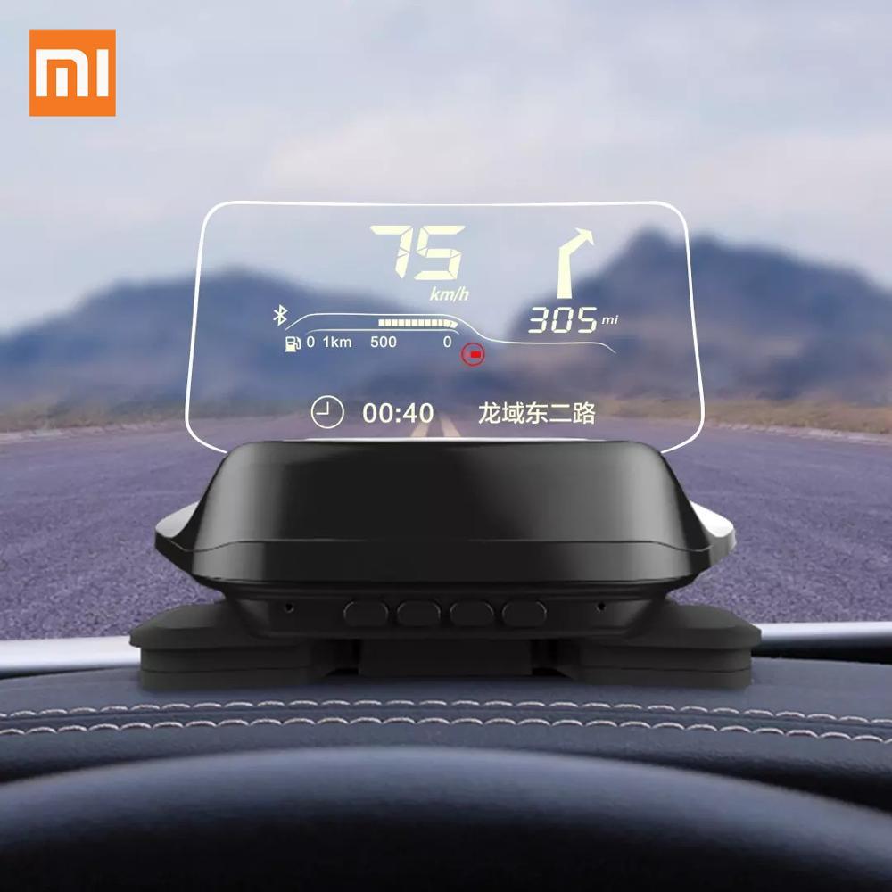 Hot Xiaomi Mijia Carrobot Intelligence Car Hud Head Up Bluetooth Version Display OBD Driving Data GPS Navigation Image Reflector