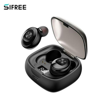 2020 New XG1 TWS Bluetooth 5.0 Earphone Digital Display Stereo True Wireless Earbuds Super Bass Sport Headphones for IOS Android