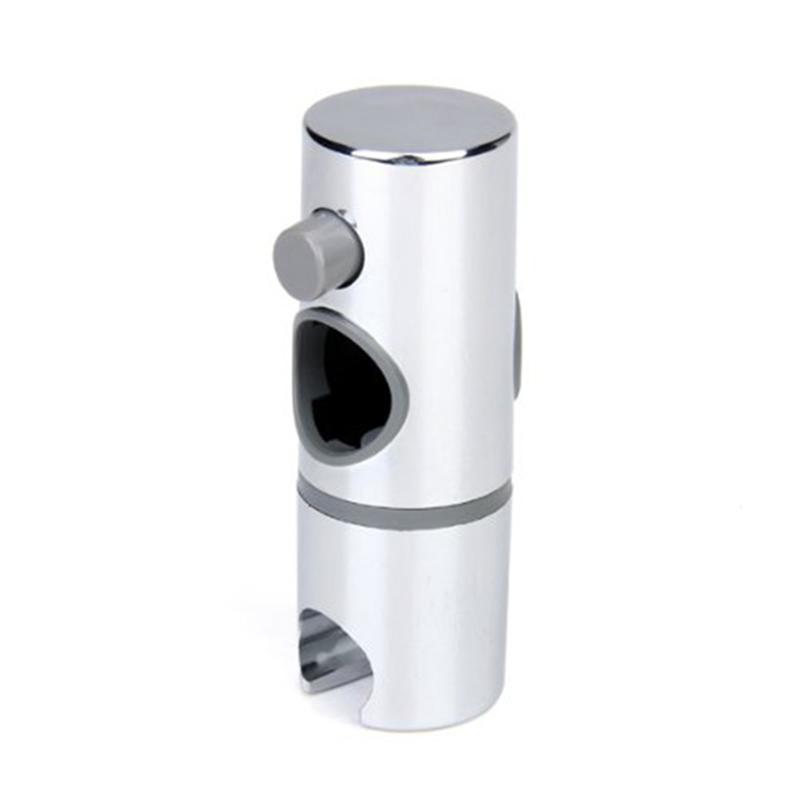 Hand Held Shower Bracket Holder Shower Slide Rail Bar Holder Adjustable Clamp Holder Bracket Replacement For Bathroom Slide Bar