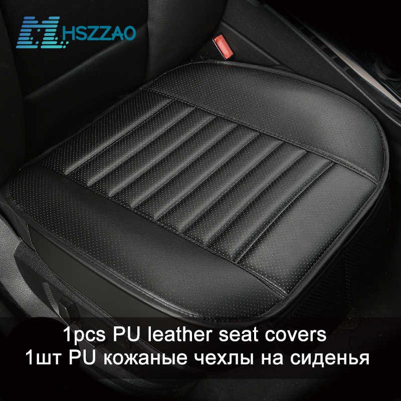 Ультрароскошное защитное сиденье для автомобиля, одно сиденье без спинки, искусственная кожа, чехол для сиденья большинства четырехдверных седанов и внедорожников