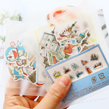 Stickers Stationery Memo-Pad-Pack Posted Sailor Moon Scrapbooking School-Supplies Kawaii Planner