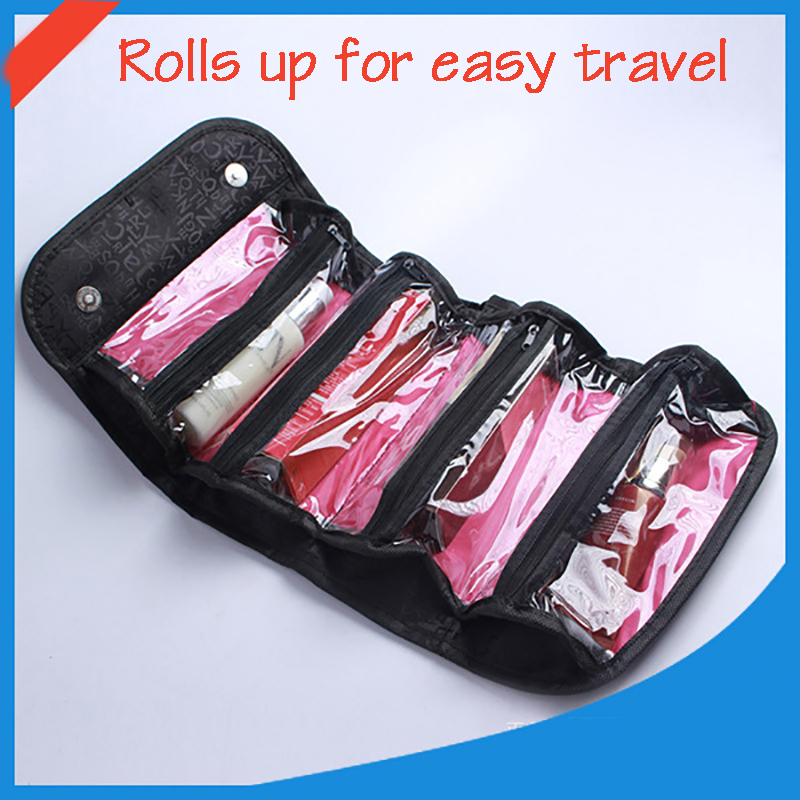 New Fashion  Portable Makeup Cosmetic Toiletry Travel Makeup Cosmetic Wash Toothbrush Pouch Organizer,Bag Capacity