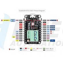 LoRaWAN LoRa düğüm geliştirme kurulu Wifi 433 MHz/470 510 MHz/863 870 MHz/902  928 MHz Arduino için