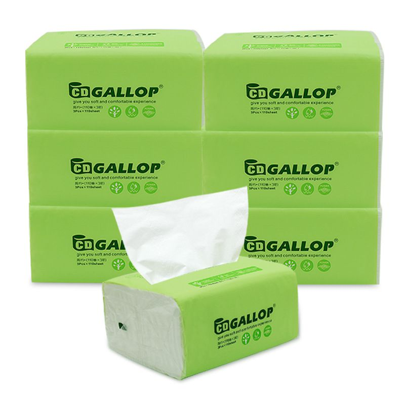 Natural Paper Pumps Affordable Towels  Removable Facial Tissues Wholesale Toilet Paper Napkins Household 3 Packs / Lift