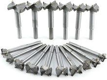 цена на 16pcs Forstner Woodworking Drill Bit Set Boring Hole Saw Cutter Wood Tools