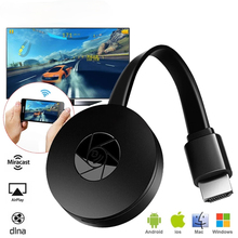 1080P HD TV Stick Wireless WiFi Display TV Dongle Receiver HDMI-compatible 2.4G WiFi Airplay Media Streamer Adapter Media