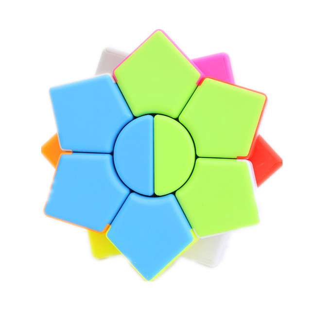 Jiehui Hexagram two-layer Square Hexagon Speed Magic Cube Twist Puzzle Educational Colorful Puzzle Professional 1
