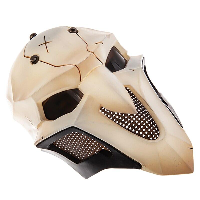 Overwatch OW Reaper Gabriel Reyes Cosplay Props Full-Face Mask Headgear Helmet Masquerade Halloween Accessory 1