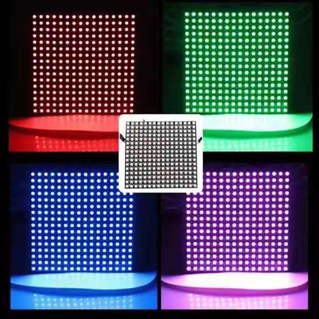 16x16 Pixel WS2812B Digital Flexible LED Panel light DIY GyverLamp Individually addressable 2812 16*16 pixels 256leds led matrix