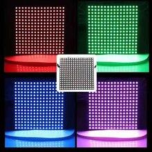 16x16 pixel ws2812b digital flexível led painel de luz diy gyverlamp individualmente endereçável 2812 16*16 pixels 256leds led matriz