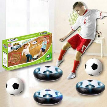 Electric Colorful LED Hover Football Indoor Floating Soccer Interactive Toy Kis Mini Development Toy Ball Toys sport games children s soccer toys kindergarten babies indoor mini soccer indoor games indoor games indoor games toys for boys