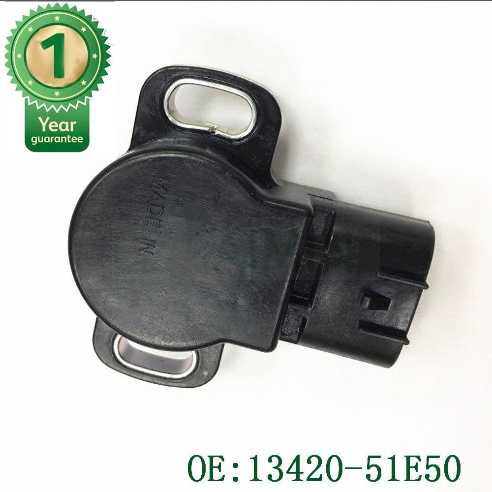 右折オリジナルスロットルポジションセンサー Tps センサー 13420-51E50 1342051E50 TPS センサースズキ