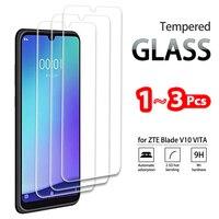 Vidrio Templado completo para ZTE Blade A7 V9 V10 VITA, Protector de pantalla de vidrio templado para ZTE A3 A5 A7s 2020, película protectora, 1-3 Uds.