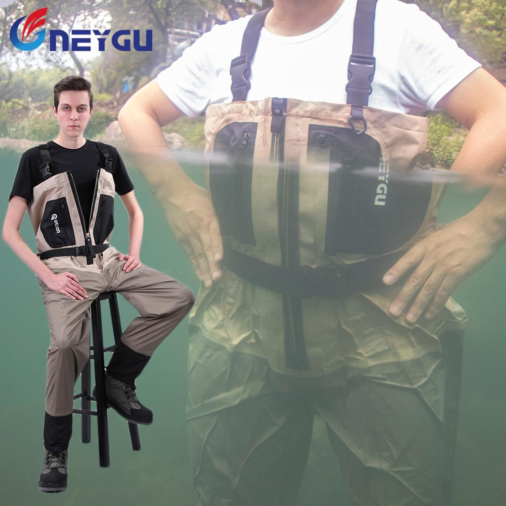 Breathable & Waterproof Ski Wader, Used for fishing wader or hunting wader, and other campaign water games image