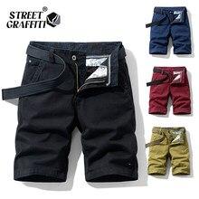 2021 nova primavera dos homens de algodão sólido calções masculinos roupas verão casual bermuda moda jeans para praia calças curtas
