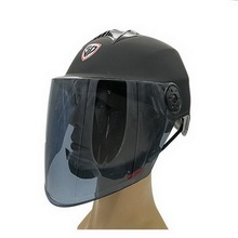 Motorcycle Helmet Electric Sun Protection Summer Universal Plastic Scooter Casco Long Lens C57