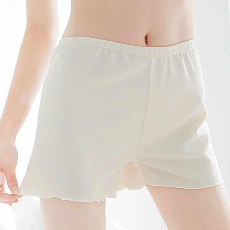 Women Safety Celana Pendek Celana Wanita Warna Solid Ringkas Nyaman Kualitas Tinggi Pinggang Tengah Safety Celana Pendek