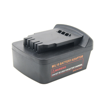 For Milwaukee Battery Adapter M18 18V Lithium Battery Convert To Dewalt 18V/20V MAX Lithium Battery Power Tool Accessories power tools battery adapter for milwaukee m18 18v li ion battery convert to makita 18v 20v bl series lithium batteries adapter