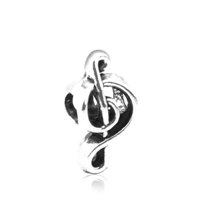 Modische Europäischen silber hinweis legierung große loch perle, geeignet für die original Pandora charme armband ornamente