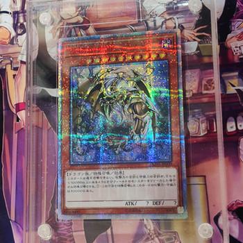 Yu Gi Oh 20SER 10000SER dziesięć tysięcy smok DIY kolorowe zabawki Hobby Hobby kolekcje kolekcja gier Anime karty tanie i dobre opinie CN (pochodzenie) Stay away from fire 8 ~ 13 Lat 14 lat i więcej 5-7 lat Dorośli Chiny certyfikat (3C) Fantasy i sci-fi