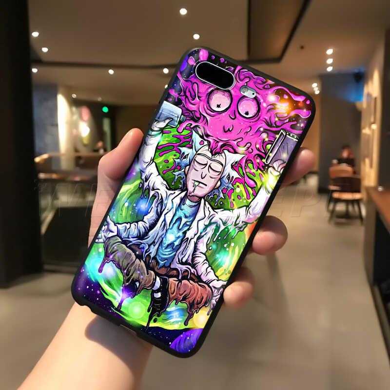 Webbedepp Ricky Morty Nghệ Thuật Dành Cho iPhone 11 Pro XS Max XR X 8 7 6 6S 6S Plus 5 5S SE