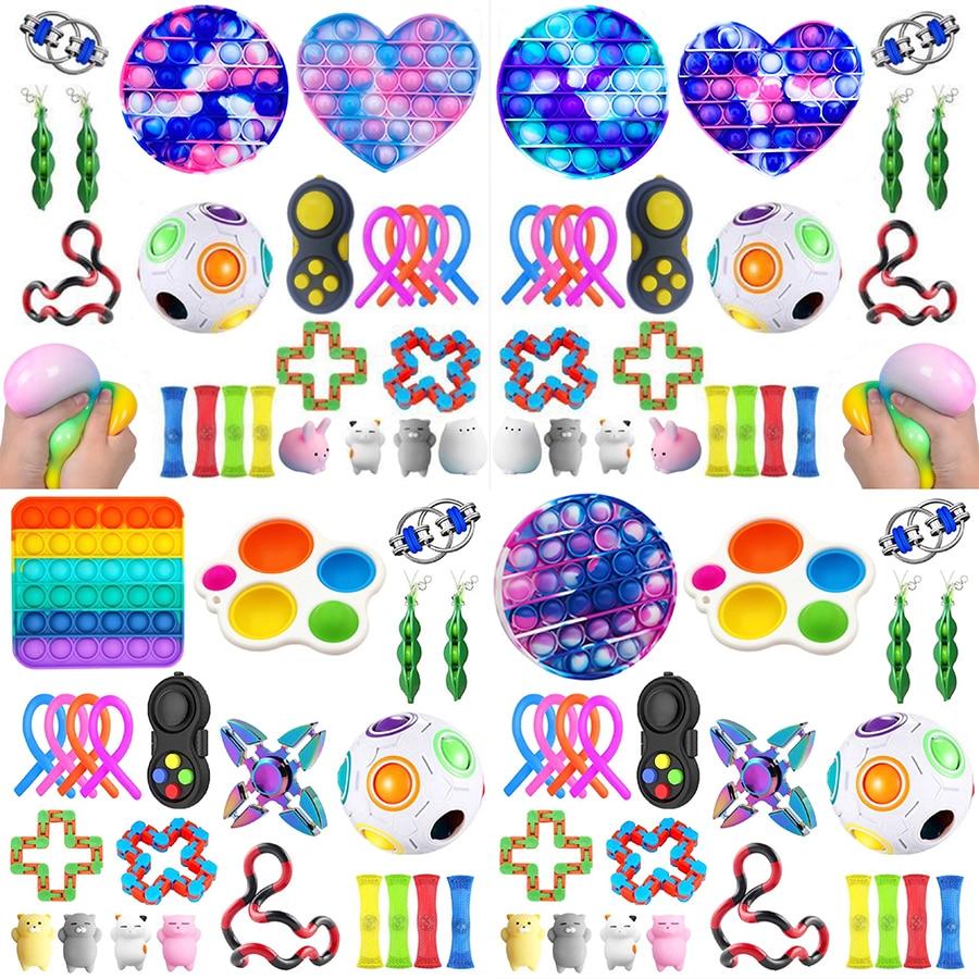 Игрушки-антистресс с пузырьками, игрушка-антистресс для восстановления эмоций