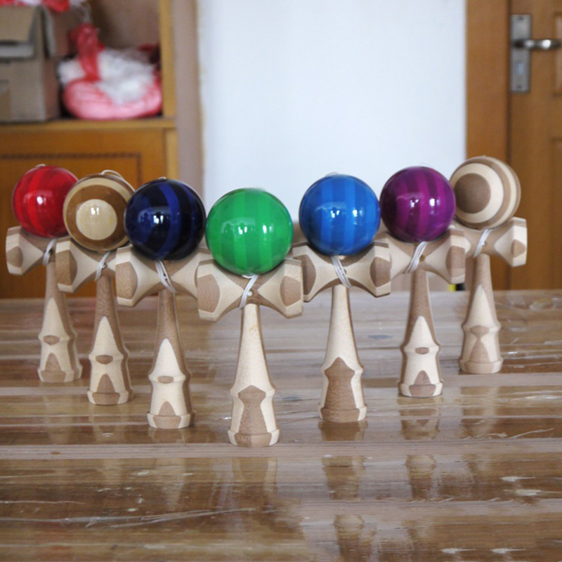 Professional Kendama Wooden Toys Skillful Juggling Ball Outdoor Ball Stress Relief Educational Toys For Adult Children