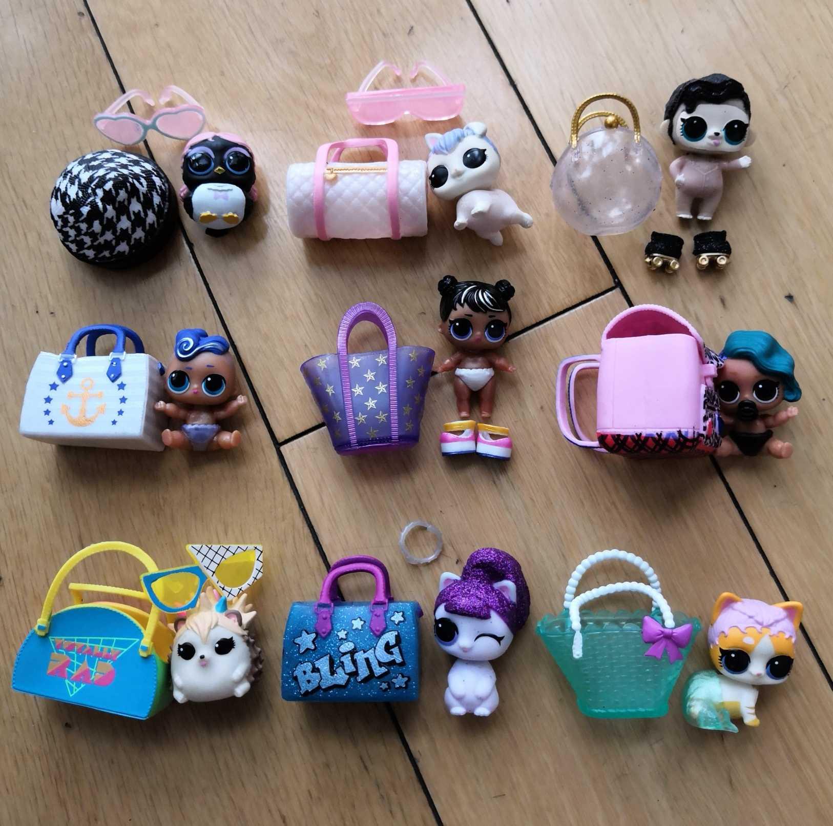 LOL Doll Surprise Original Five Generation Pet Accessories Bottle Surprise Pet Clothes Shoes Toys For Children