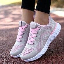 UE 35-42 zapatos de invierno para correr para mujeres 2019 zapatos de gimnasio ligeros para caminar cómodos zapatos para correr al aire libre zapatillas de deporte de seguimiento zapatillas deportiva mujer
